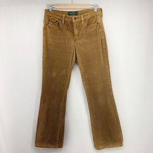 Vintage Ralph Lauren Caramel Corduroy BootCut Pant